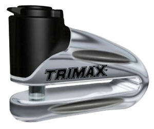 TRIMAX T665LC MOTORCYCLE DISC LOCK CHROME