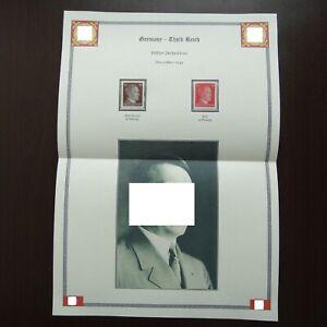 Germany-Nazi-1942-Stamps-MNH-Adolf-Hitler-WWII-Third-Reich-German-Deutschland