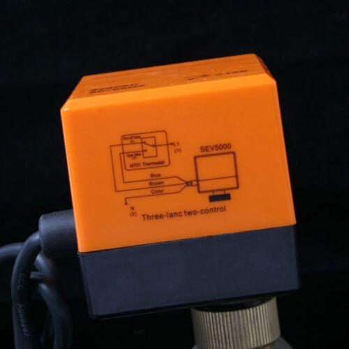 Zonenventil 3 Wege 1Zoll Elektrische Umschaltventil Kugelventil Absperrhahn DN25