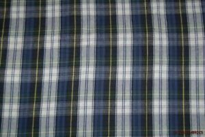 Blue-Green-White-Yellow-Plaid-Shirting-Flannel-Fabric-62-034-W-BTY