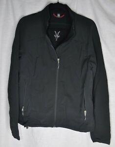 Ibex-Climawool-Black-Softshell-Jacket-Women-039-s-L-Large-Clima-Wool