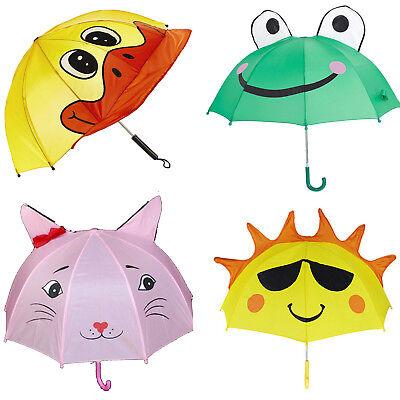 Sass/&Belle Animals Kids Children Umbrella Folding Boys Girls Compact Gift Xmas