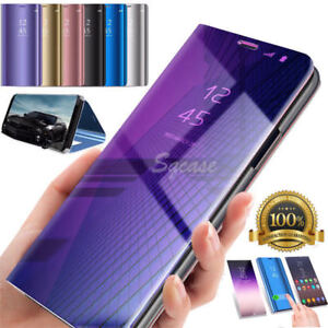 size 40 731a7 c3135 Details about For Huawei Honor 10 2018 360° Clear View Case Cover Mirror  Flip Stand Lot