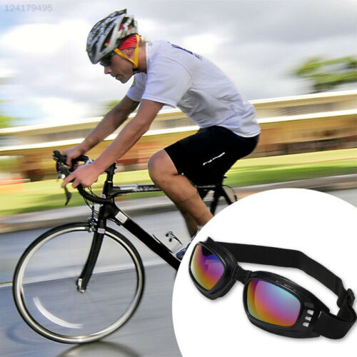 Cycling Scratch-Resistant Glasses Motorcycle Windshield Goggles Simple Style