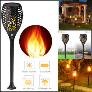 96-LED-Waterproof-Solar-Tiki-Torch-Light-Dancing-Flickering-Flame-Lamp-1-20Pcs