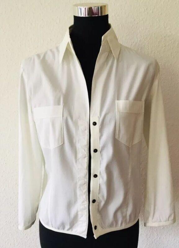 Aufstrebend Strenesse Bluse Weiss Gr. 36 Shirt Langarmbluse Blouse Starker Widerstand Gegen Hitze Und Starkes Tragen