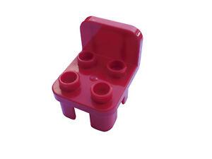 LEGO DUPLO 2 x Chaise en rouge meuble cuisine salon salle de bain   eBay
