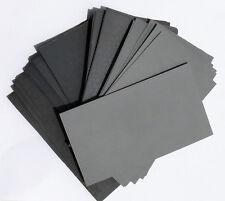"Sandpaper Wet / Dry 70pc.3"" X 5-1/2"" COMBO 600/800/1000/1200/1500/2000/2500 Grit"