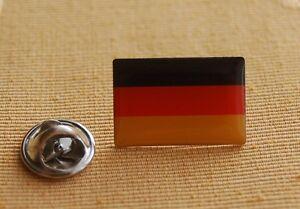 Deutschland-rechteckig-Pin-Anstecker-Flaggenpin-Button-Pins-Anstecknadel-Badge