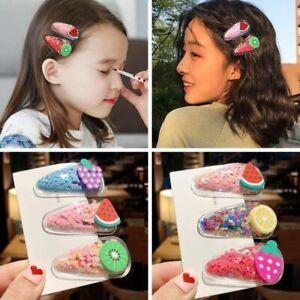 Baby Headwear Cute Hair Clips Accessories For Kids Children Hair Clip 5Pcs//set