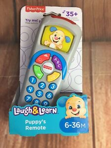 Fisher-Price-Laugh-And-Learn-Puppy-s-Remote-BRAND-NEW-IN-BOX-Pre-school-Toy