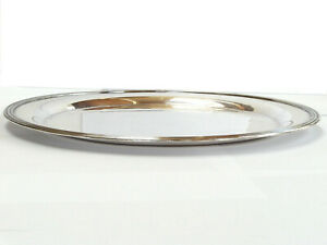 "Sheffield Reproduction #361 - Silverplate 10"" diameter plate - Holloware"