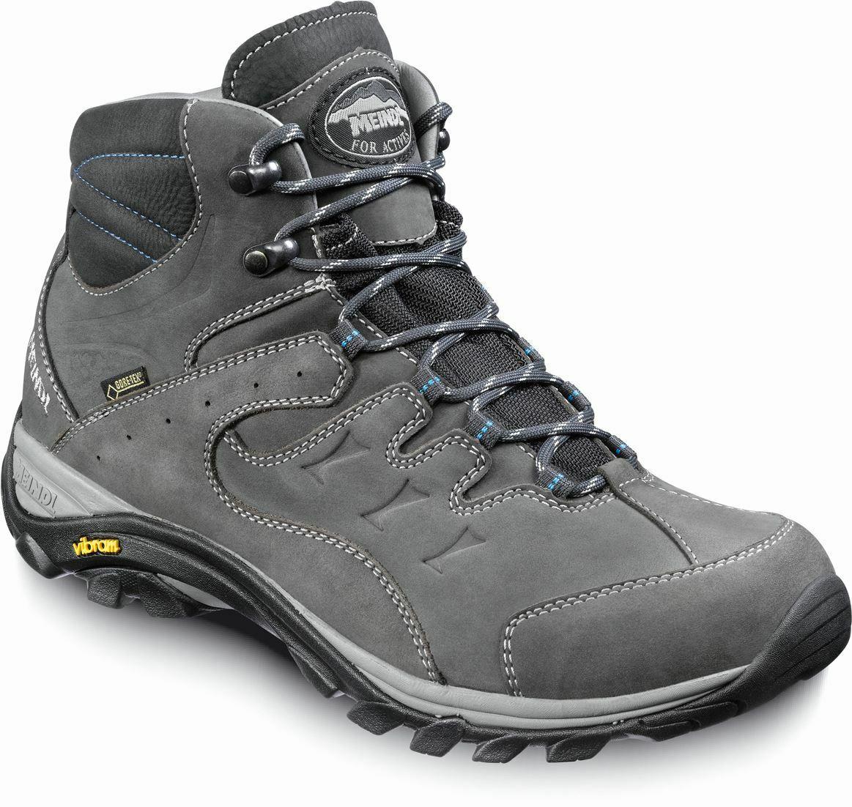 Meindl caracas MID GTX Hombre senderismo zapatos outdoor antracita Marine