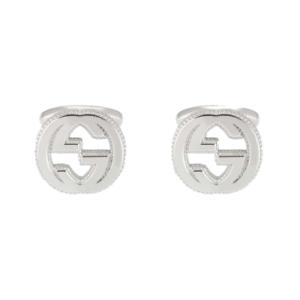 9afb0124b New Original Gucci Men's Sterling Silver Interlocking Cufflinks ...