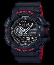 GA-400HR-1A Black G-shock Men's Watches Analog Digital Resin Band New