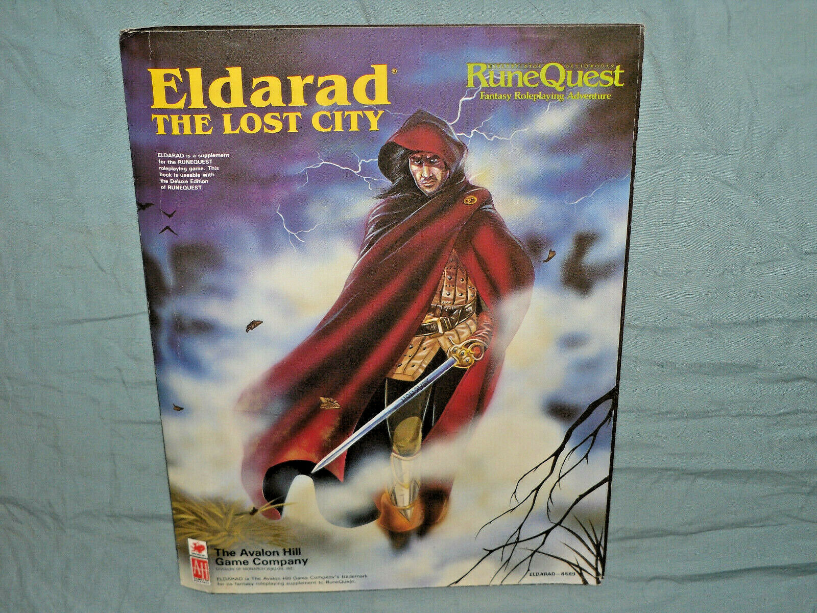 Avalon Hill  correreequest Supplement - ELDARAD THE LOST città (VERY RARE e UNUSED )  autentico online