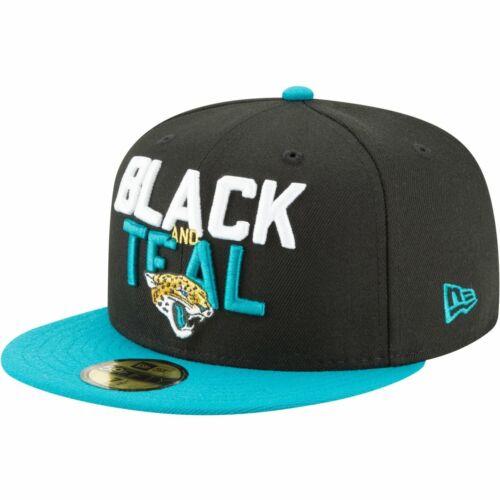 NFL 2018 DRAFT Jacksonville Jaguars New Era 59Fifty Cap
