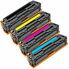 4Pk Compatible CE320A CE321A CE322A CE323A Toner For HP LaserJet CM1415 CP1525nw