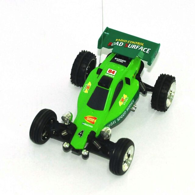 86278bc20570 1 52 Remote Control Car Mini RC KART Racing BUGGY - Green Color US Seller