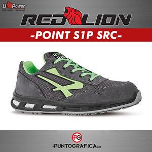 Lion Upower Antinfortunistica Da Scarpa Lavoro Point Src Red S1p ZB4OwnX