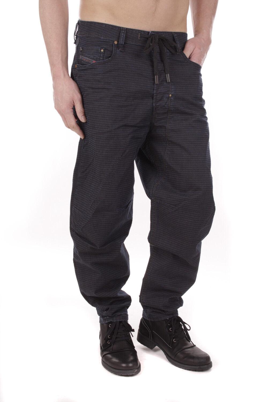 DIESEL truckter 0669h _ Stretch Jeans Uomo Pantaloni comfort Carrot