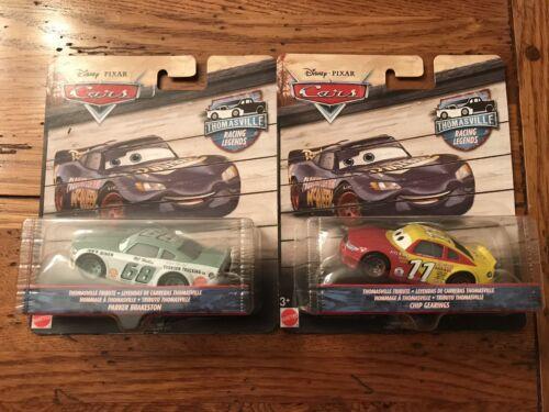 Disney Pixar Cars THOMASVILLE Racing Legends CHIP GEARINGS /& PARKER BRAKESTON