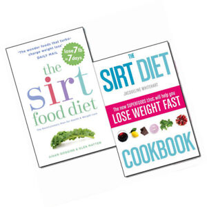 The-Sirtfood-Diet-Cookbook-Collection-Weight-Loss-2-Books-Set-Paperback-New-Pack