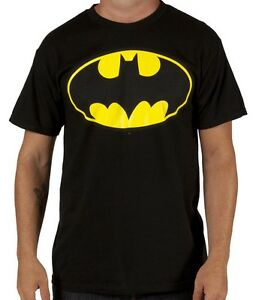Batman-Tee-Shirt-Officiel-logo-Batman-t-shirt-Neuf-tee-shirt-Batsignal-Batman