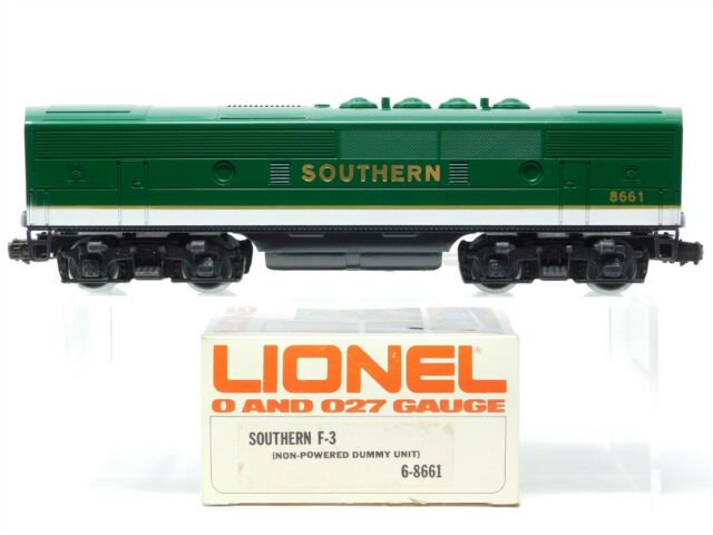 O Gauge 3-Rail Lionel 6-8661 SOU Southern F3B Diesel Locomotive #8661 Unpowered