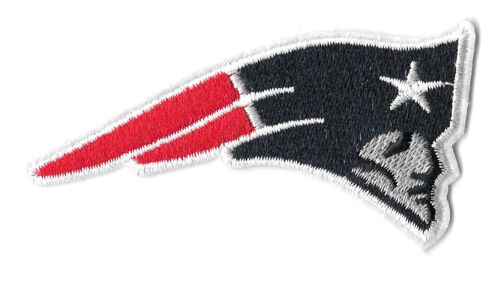 Boston Embroidered Iron On Patch Patriots Football Sports