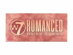 W7 Romanced Neutrals in Love 14 Colour Eye Shadow Palette with Peachy Tones 5060503772649