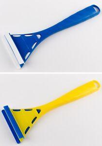 2 Eiskratzer Murska Eisschaber 286mm Dreieck Acryl aus Finnland Farbe zufällig