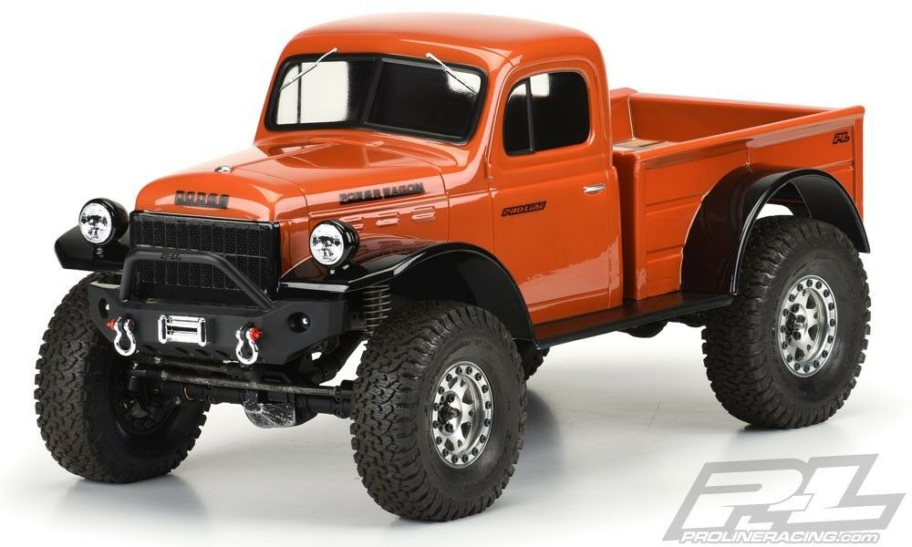 Pro-Line 1946 1946 1946 Dodge Power Wagon 12.3 Crawler Body (Clear)  - PRO3499-00 1c138d