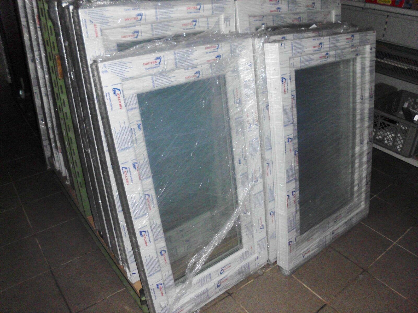 Kunststofffenster einfl. neue Fenster 1200mm hoch und alle Breiten neu Magdeburg