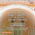 Klavierkonzert/Violinkonzert von Norddeut.Phil.Rostock,Frühwirth,Lehner,Krumpöck (2015)