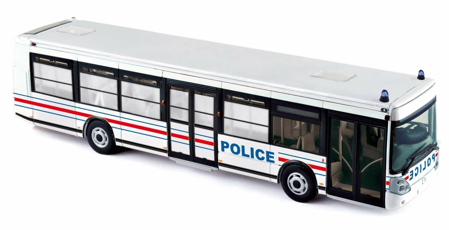 Bus Irisbus Agora Citelis Polizei Transport Personenwagen Interpellées 1 43