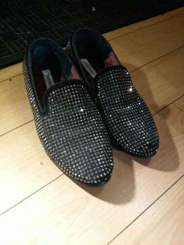 Men Steve Madden Rhinestone Shoes size 12