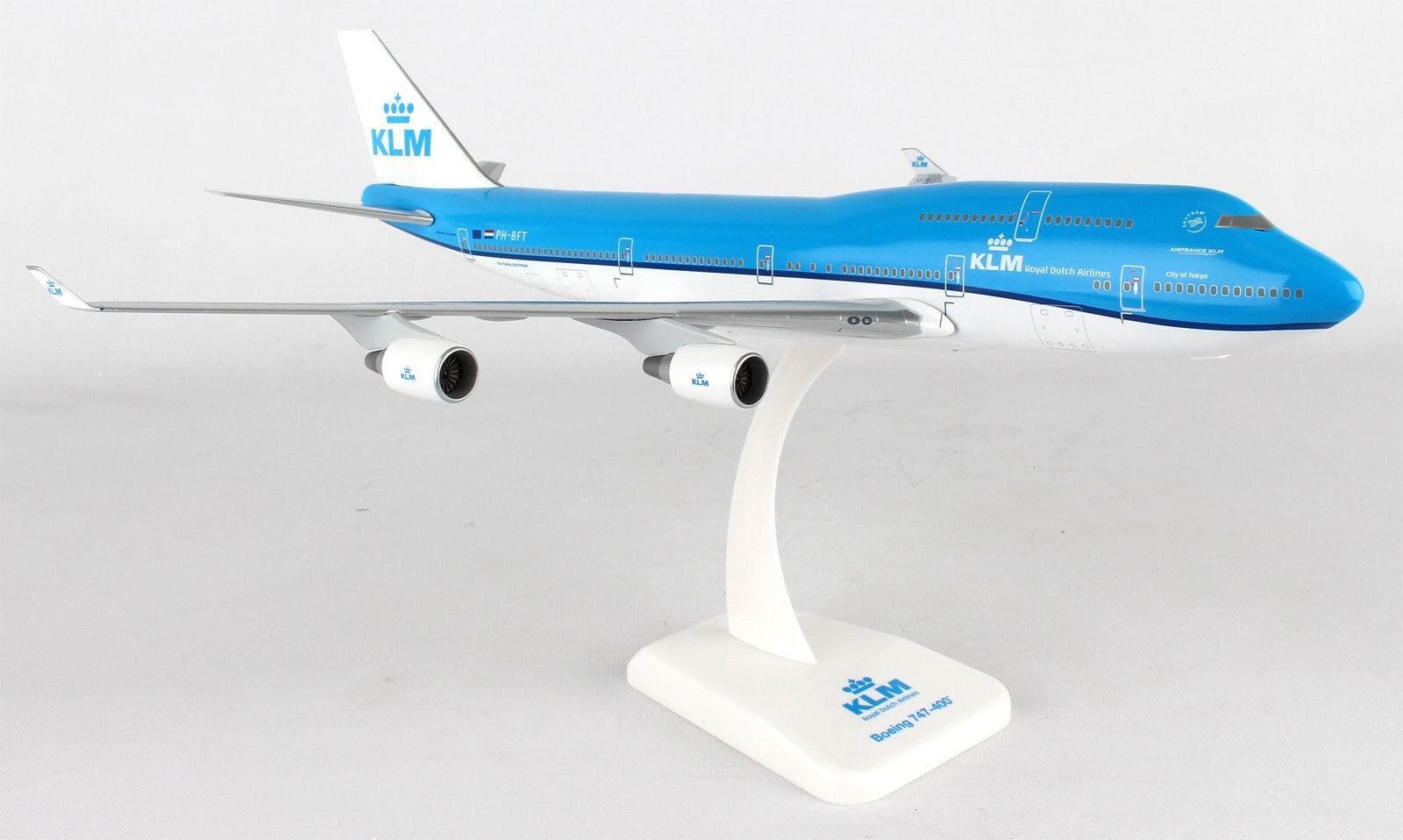 KLM Royal Dutch Airlines Boeing 747-400 1 200 Hogan  Wings modèle 10123 Nouveau b747  acheter en ligne
