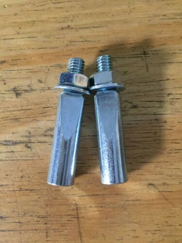 PAIR NOS//NEW Cotters 8mm 8.5mm 9mm 9.5mm Cotter Pins for Cottered Steel Cranks