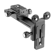 Y-Type Telephoto Zoom Lens Support Bracket Rail Holder Plate For Camera Tripod