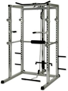 Power-rack-con-lat-machine-pulley-25mm-dip-bar-incluse-Power-cage