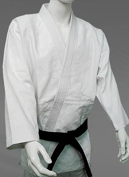 White Judo   JUJUTSU Uniform 900GSM, Double Weave  Competition Instructor Quality  no hesitation!buy now!