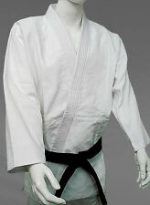 Uniform Heavy duty double Weave 750 gram White and Blue Gi KANKU Judo Uniform