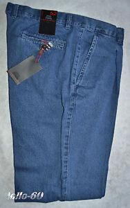 HonnêTe Jeans Uomo Classico Taglie 46 - 48 - 50 - 52 - 54 - 56 - 58 - 60 - 62 Con Pence