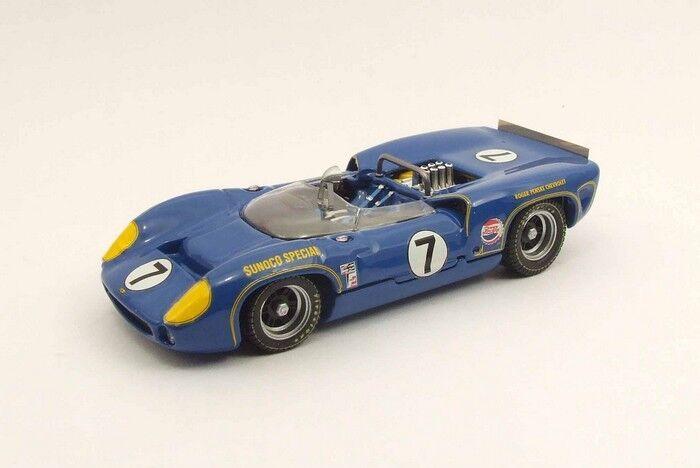 Best MODEL 9454 - Lola T70 spider blue 1966 N°7  1 43