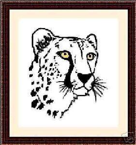Cheetah-Original-Cross-Stitch-Kit
