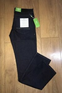 "6defd7bc1fc Hugo Boss Green Label Navy BNWT New Jeans 32"" Inch Waist 32"