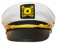 Adjustable Child Yacht Captain Hat Ship Navy Officer Sea Skipper Cap