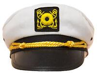 Adjustable Child Yacht Captain Hat Ship Navy Officer Sea Skipper Cap