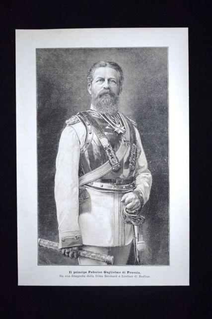 Il principe Federico Guglielmo di Prussia